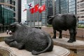 The Hang Seng Index closed 1 per cent lower at 29,707.94 on Thursday. Photo: Reuters