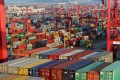 Shipping containers at the Yangshan Deep Water Port in Shanghai. Photo: Reuters