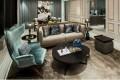 Living room at La Cresta by HKR International