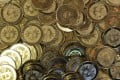 Bitcoins at a shop in Utah. The price of the most widely used virtual currency rose above US$10,000 as a senior official of the European Central Bank warned against the speculative frenzy surrounding bitcoin. Photo: AP
