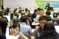 Students register for vocational courses in Cheung Sha Wan in July last year. Photo: Edward Wong