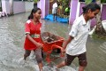 People in southern India are scraping together supplies after Cyclone Ockhi ravaged parts of the country and Sri Lanka, leaving dozens dead. Photo: Reuters