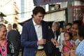 Justin Trudeau was a hit in the Philippines, but what do Chinese people think of him? Photo: AFP