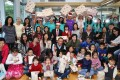 Credit Suisse volunteers host a Christmas party at a cancer support facility in Tuen Mun. Photo: K.Y. Cheng