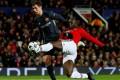 Romelu Lukaku equalises for Manchester Unietd against CSKA Moscow. Photo: Reuters