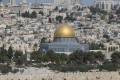 A view of the Al-Aqsa compound (Temple Mount) in Jerusalem's Old City. US President Donald Trump has told Palestinian leader Mahmoud Abbas he intends to relocate the US embassy from Tel Aviv to Jerusalem. Photo: EPA