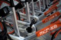 Mobike shared bicycles on a street in Beijing. The head of Mobike wants a clearer regulatory framework in which to operate in China. Photo; AFP
