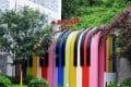 A new public toilet in Chongqing. Photo: Imaginechina