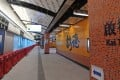 Kai Tak MTR station will form part of the troubled Sha Tin-Central link. Photo: Pool picture
