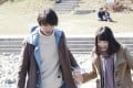 Sota Fukushi (left) and Nana Komatsu in a still from My Tomorrow, Your Yesterday (category I, Japanese), directed by Takahiro Miki.
