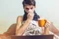 "The term 'Man flu' is defined by the Oxford English Dictionary as ""a cold or similar minor ailment as experienced by a man who is regarded as exaggerating the severity of the symptoms."" Photo: Shutterstock"