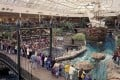 West Edmonton Mall, which opened in September 1981, features the world's largest indoor amusement park. Photo: SCMP Handout