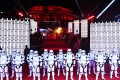 Actors dressed at storm trooper characters pose at the UK Premiere of 'Star Wars: The Last Jedi' at the Royal Albert Hall in London. The film franchise is a key part of Disney's corporate strategy. Photo: EPA-EFE