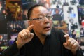 Taiwanese 3D film director Charlie Chu. Photo: Agence France-Presse