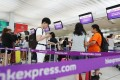 Hong Kong Express was recently banned by the city's aviation regulator from taking delivery of new aircraft and adding flights or destinations to its network until April 30 next year. Photo: Edward Wong