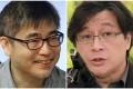 Wu Jieh-min (left) and Wu Rwei-ren had their visa applications rejected. Photo: Handout