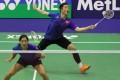 Hong Kong's Tang Chun-man (back) and Tse Ying-suet is enjoying a fine season and have reached the Dubai World Superseries final. Photo: Handout