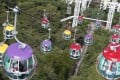 Ocean Park pledged to carry out a thorough examination of the cable car system before resuming operation of the ropeway. Photo: David Wong