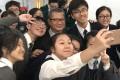 Paul Chan meets a group of 'junior financial secretaries'. Photo: Handout