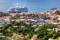 Cruise ships docked in St George's, the capital of Grenada. Photo: Shutterstock