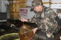 The crabs were seized from a shop in Beihai, Guangxi. Photo: Qq.com
