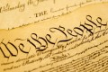"""The famous """"we the people"""" preamble to the United States Constitution. Photo: Handout"""