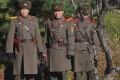 North Korean soldiers stare at the South side at the truce village of Panmunjom in the demilitarised zone (DMZ) dividing the two Koreas. File photo: AFP
