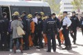 Nineteen Greenpeace members were arrested after a protest gone wrong. Photo: Handout
