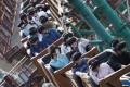 Hong Kong's first virtual reality roller coaster, Mine Train at Ocean Park. Photo: Nora Tam
