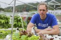 Wouter van Marle established a hydroponics start-up, which allows Hongkongers to use their balcony or rooftop to grow vegetables. Photo: Xiaomei Chen