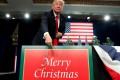 US President Donald Trump in Missouri. Photo: Reuters