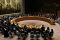 The United Nations Security Council meets to discuss imposing new sanctions on North Korea in New York. Photo: Reuters