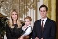 Ivanka Trump and Jared Kushner. Photo: EPA