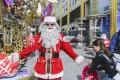 Santa Johnny Wu is the co-founder of Santa Claus School at Victoria Harbour in Tsim Sha Tsui. Photo: Xiaomei Chen