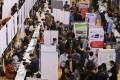Job seekers attend a career fair in Zhengzhou University in Zhengzhou, Henan province, China. Photo: Reuters