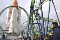 Fans flock to the Space World amusement park for the last time. Photo: Kyodo