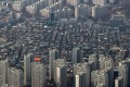 The South Korean government is considering a property tax hike to stabilise housing prices. Photo: Bloomberg