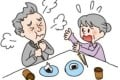 In 2016, Japanese authorities posted on the internet illustrated advice on what to do should someone start to choke, with a vigorous slap on the back while supporting the chin a suggested remedy. Photo: Handout