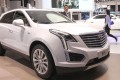 A Cadillac XT5 SUV is displayed at the Shanghai car show in April last year. The car brand helped GM sell a record 4 million units in China in 2017. Photo: Simon Song