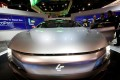 The LeSee Pro electric concept vehicle by LeEco is displayed during the 2017 CES in Las Vegas. Photo: Reuters
