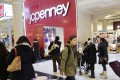 According to early estimates, mall staples like Macy's and JCPenney have not wowed investors with their results. Photo: AP Photo