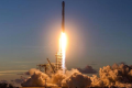 SpaceX's Falcon 9 rocket takes off on its mission to deliver the EchoStar 105/SES-11 satellite to space. Photo: SpaceX/Flickr