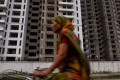 Under construction apartments in Greater Noida, southeast of the capital, New Delhi. India will continue to be the top developing market for investors in 2018, according to JLL. Photo: AFP