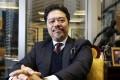 Azmat Mui Moosdeen, chairman of Hong Kong Middle East Chamber of Businessmen. Edward Wong