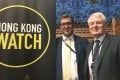 British peer Paddy Ashdown (right, with human rights activist Benedict Rogers) says those eligible for BNO passports should make sure they claim them. Photo: Stuart Lau