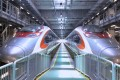 The express rail link is expected to open in the third quarter. Photo: Dominic Chan/EyePress