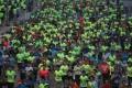 Runners compete in the 2018 Hong Kong Marathon. Photo: Felix Wong