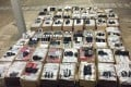 Police found HK$10 million of goods on two speedboats bound for the mainland. Photo: Handout