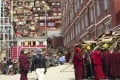 Eight months of demolition and expulsion has reduced the size of Larung Gar, a sprawling Buddhist centre of learning and prayer in the mountains of Sichuan. Photo: AP