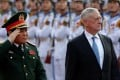 US Secretary of Defence Jim Mattis and Vietnam's Defence Minister Ngo Xuan Lich. Photo: Reuters